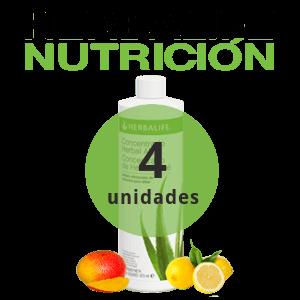 Pack 4 bebidas de Aloe Herbalife