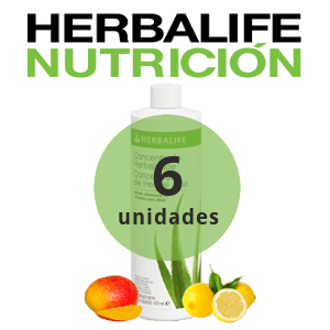 Pack 6 bebidas de Aloe Herbalife