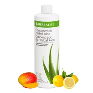 Aloe bebida herbal