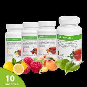 Pack 10 bebidas de té Herbalife