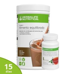 Pack básico control de peso Herbalife | 15 días
