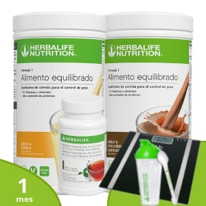 Pack básico Herbalife + Accesorios | 1 mes